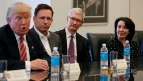 Trump meets with tech execs, including his critics