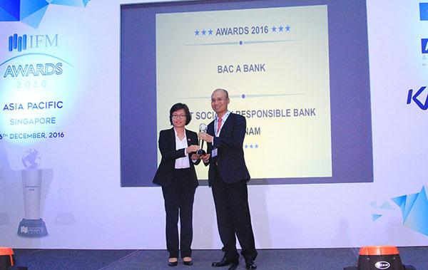 bac a bank earns eminent award from international finance magazine