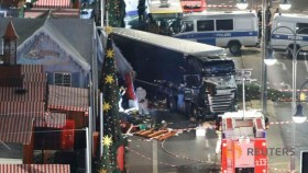 12 killed as truck ploughs into Berlin Christmas market
