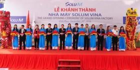 Solum Vina Company inaugurates factory in Vinh Phuc