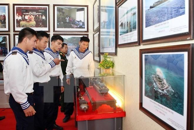 hoang sa truong sa exhibition opens in long an