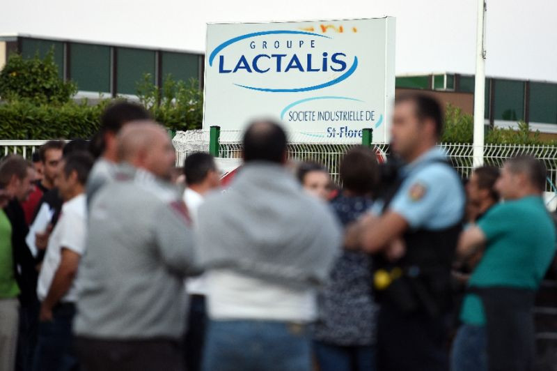 Major international recall of Lactalis formula milk over salmonella fears