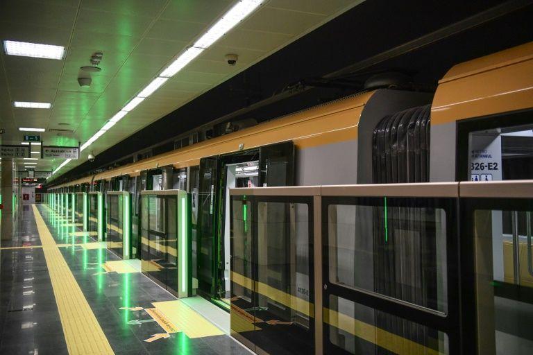 erdogan opens turkeys first driverless metro line in istanbul