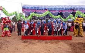 Ninh Thuan: Feed processing factory construction kicks off