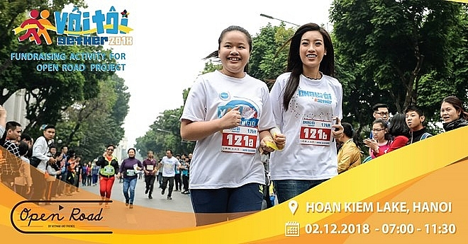 hanoi race raises public awareness of visually impaired people