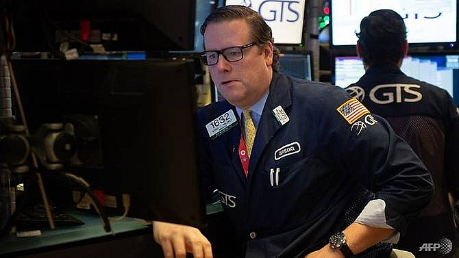 dow falls 2pc as huawei arrest revives us china fears