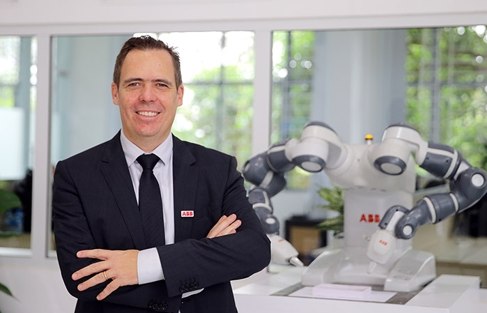 abb opens vietnams first robotics technical and service centre