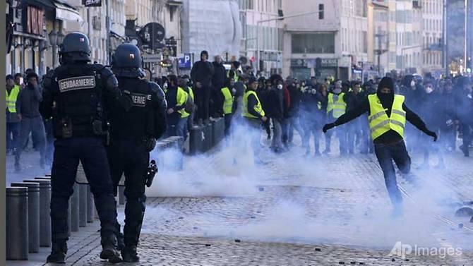 Macron to address the nation as calls grow to act on