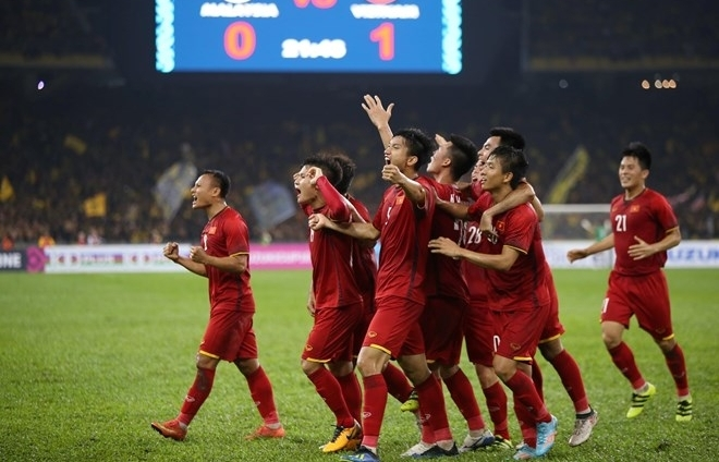vietnam tie with malaysia in aff first leg final