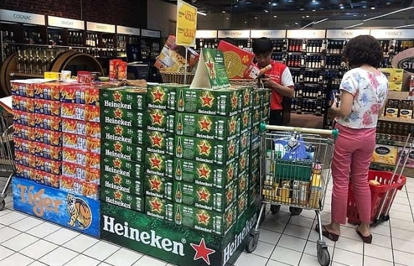 as tet approaches beer market already fizzing