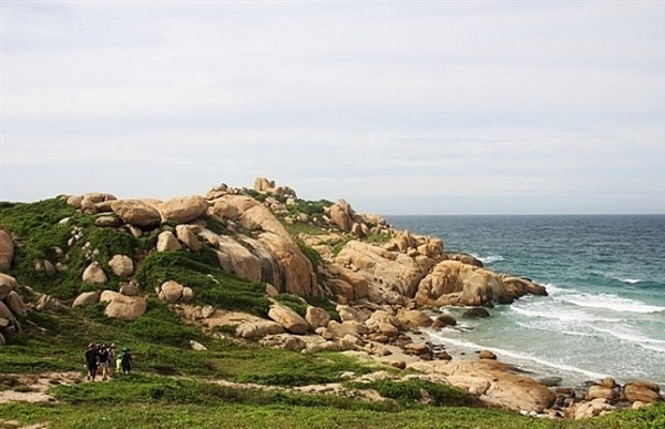 tiny isle in binh thuan ideal destination for nature lovers