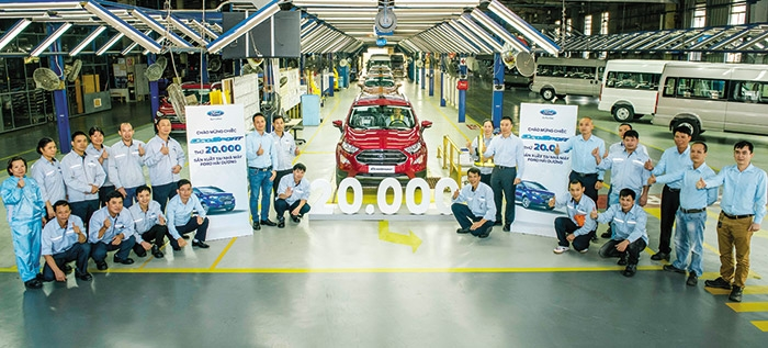 record sales driven by localised cars