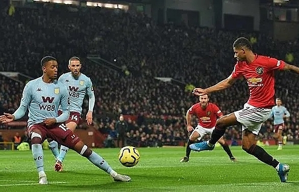 man utd lose more ground on top four after villa draw