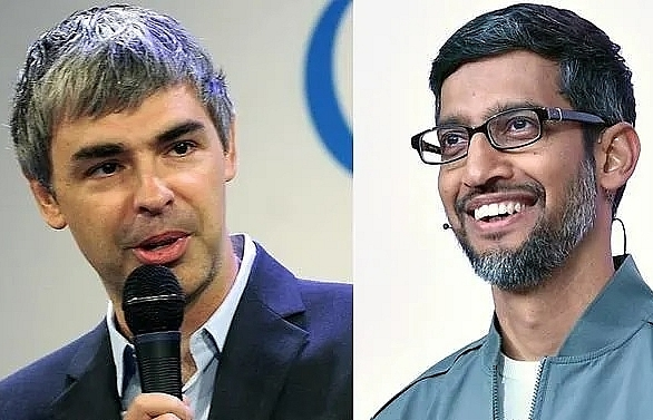 googles sundar pichai replaces larry page as alphabet ceo
