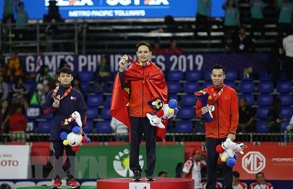 sea games 30 vietnam stays at second place on december 5