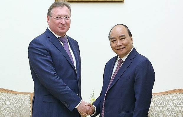 vietnam prioritises oil and gas cooperation projects with russia pm