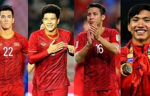 four vietnamese footballers named in best 11 of sea games 30
