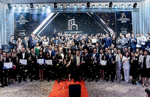 more than 45 winners celebrate dot property southeast asia awards 2019