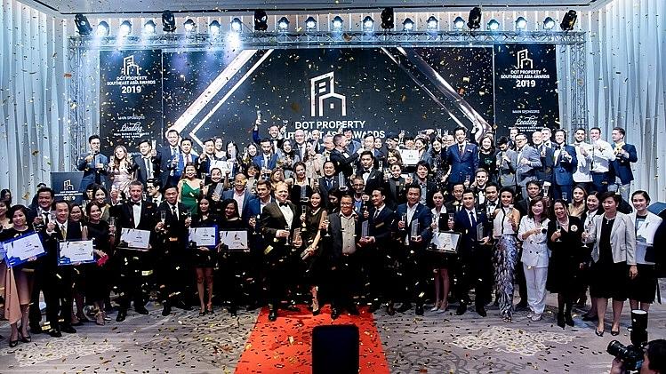 more than 45 winners celebrate dot property southeast asia awards 2019