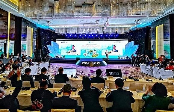 vietnam travel tourism summit 2019 opens in hanoi