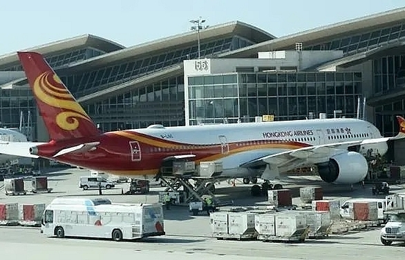 seven hong kong airlines planes impounded by authority