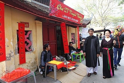 traditional tet space to be re enacted in hanois old quarter