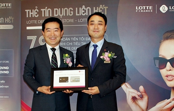lotte finance toasts first year of business in vietnam
