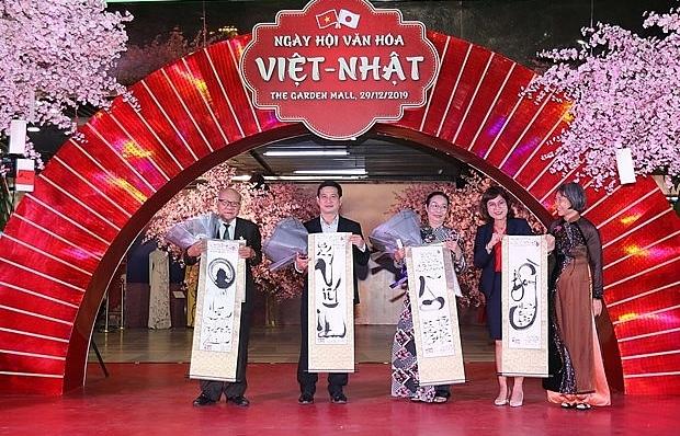 vietnam japan cultural exchange festival opens in hcm city