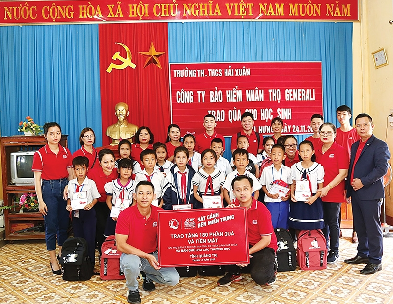 generali vietnam relief plan launched in central region
