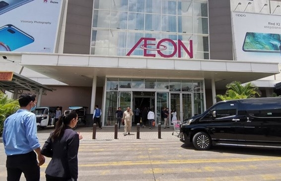 cambodia aeon 1 mall allowed to reopen