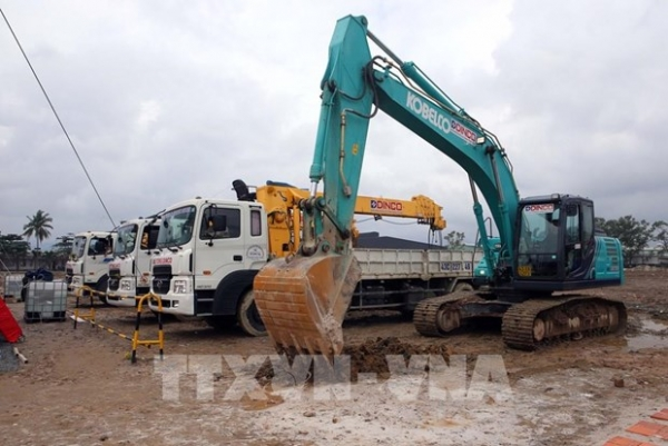 construction of 40 million usd factory underway in da nang
