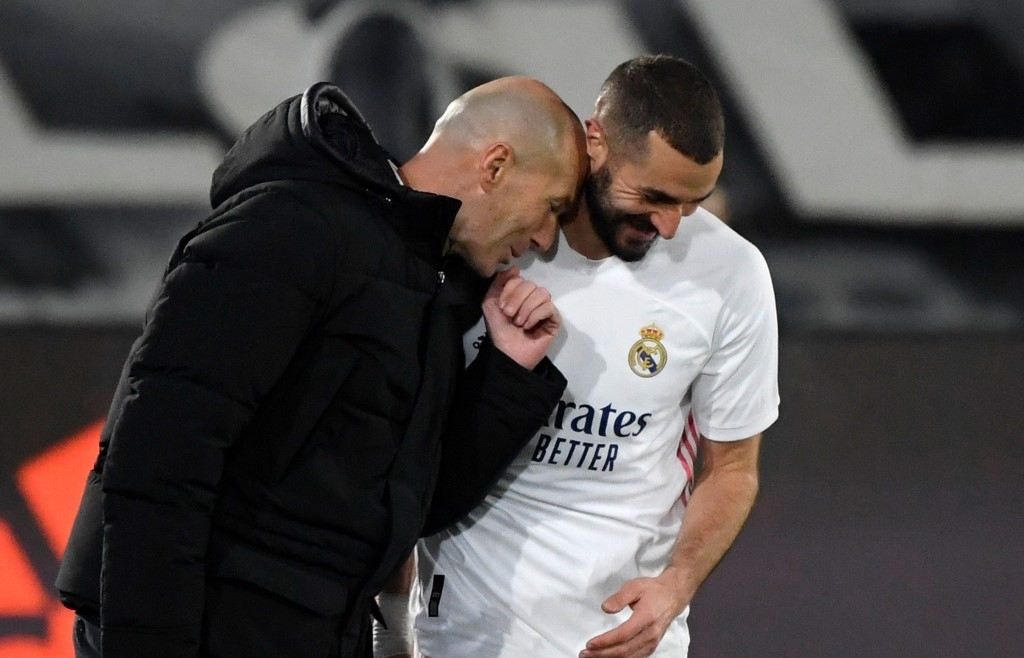 zidane hails benzema as best ever france centre forward