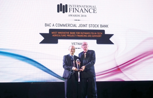 bac a banks stellar growth with green focus