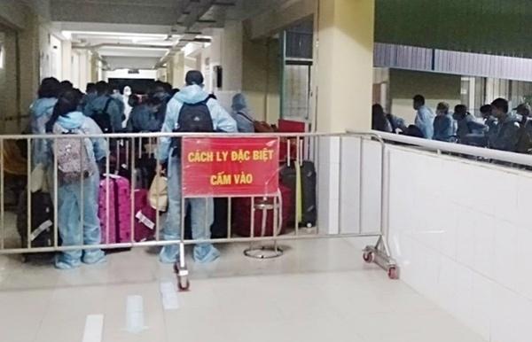 f1 f2 cases of covid 19 patient under quarantine