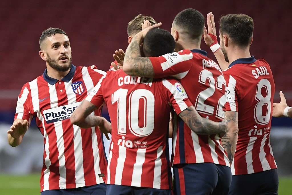 atletico extend la liga lead after real slip at elche