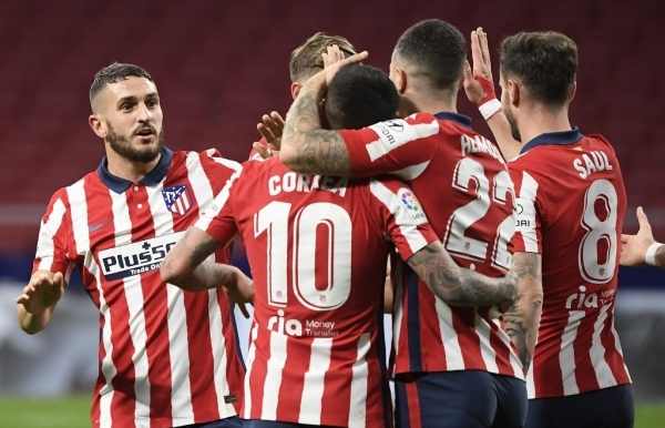 atletico extend la liga lead after real slip at elche