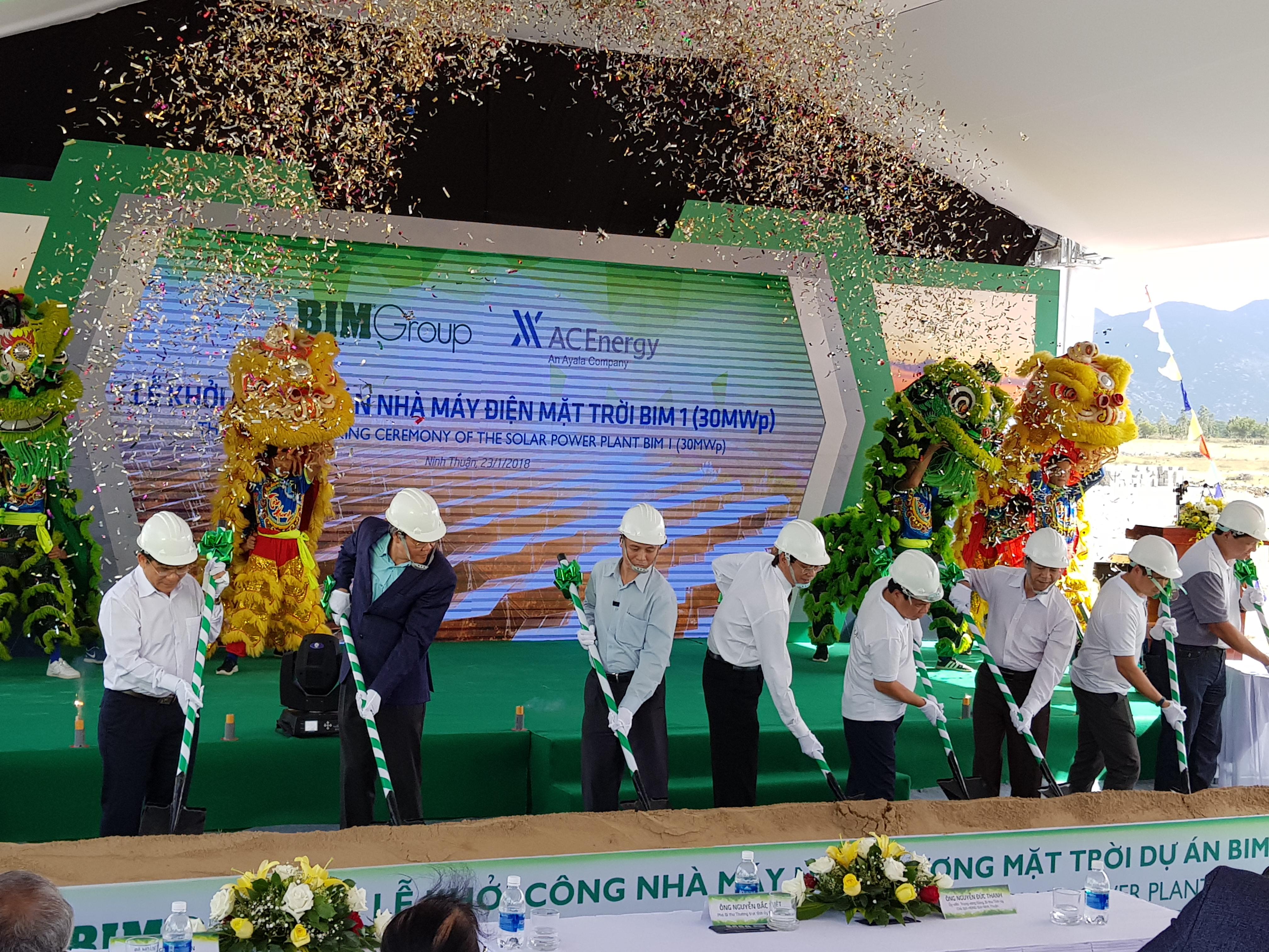 bim group kicks off 35 million solar power project in ninh thuan