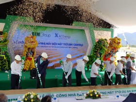 bim group kicks off 35 million solar power project in ninh thuan