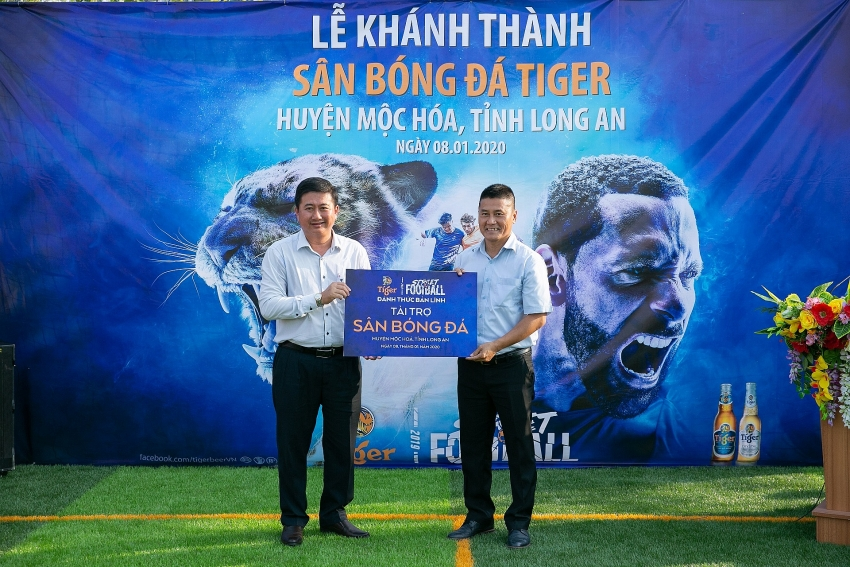 tiger beer uncages local street football talents with 3 pitches for communities