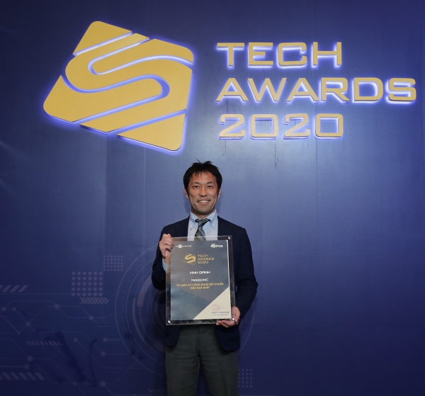 panasonic honoured with best hygiene technology refrigerator at tech award 2020