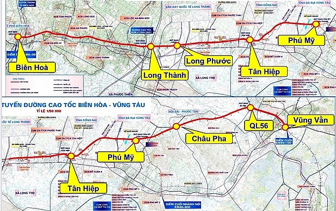 ministry of transport proposes to appraise 820 million bien hoa vung tau expressway