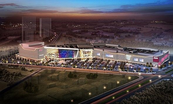 aeon mall breaks ground for aeon mall hadong