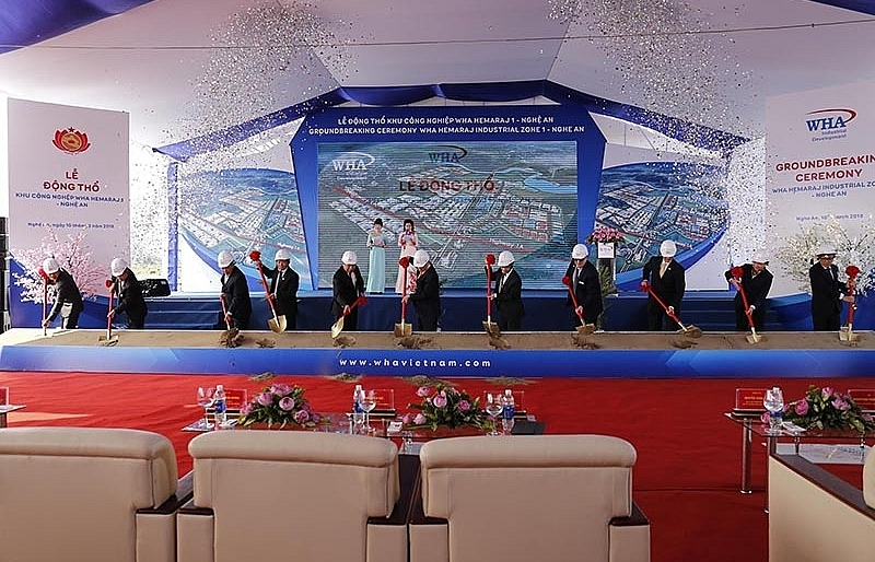 wha corporation kicks off 1 billion industrial park in nghe an