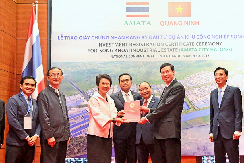 amata group receives investment certificate for industrial park