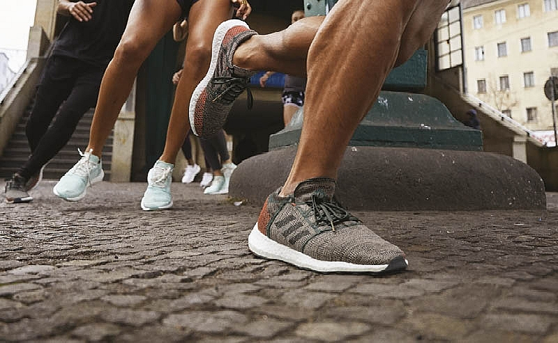 adidas pureboost go encourages runners to discover the city