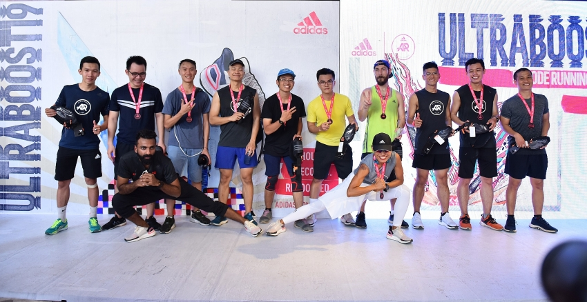adidas organises running event in collaboration with virtual reality technology for first time