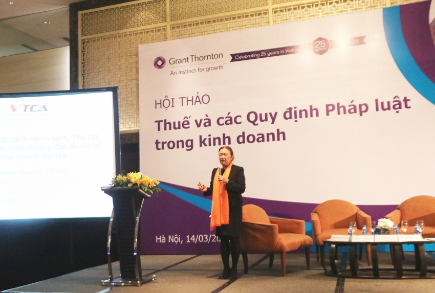 grant thornton vietnam hosts seminars to update on key tax changes