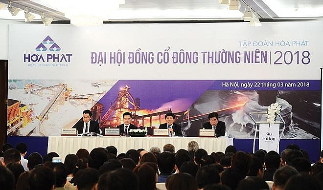hoa phat group accelerates steel complex