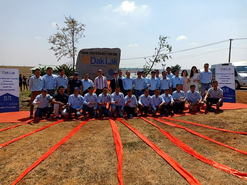 bmt solar farm officially comes into operation