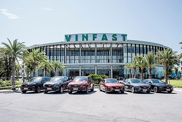 vinfast secures exemption from import tax on parts for exported cars